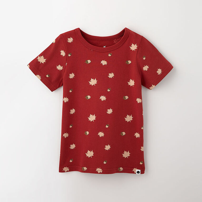 little styler graphic tee, 12-18m - red