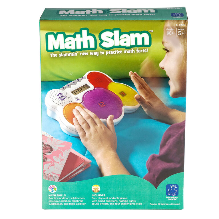 Educational Insights Math Slam Game  050285