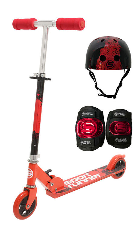 Sport Runner Premium Scooter Combo Set - Red - R Exclusive