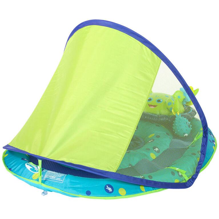 Centre d'activités Baby Spring Float avec pare-soleil - Pieuvre
