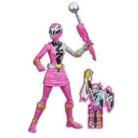 Power Rangers Dino Fury Pink Ranger Action Figure Toy