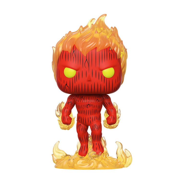 Funko POP! Heroes: Marvel Comics Fantastic Four - Human Torch