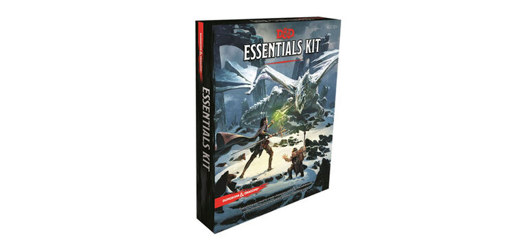 Trousse essentielle pour Dungeons and Dragons - Édition anglaise