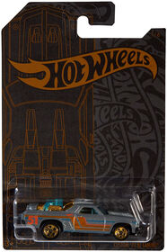 Hot Wheels - Véhicule EL CAMINO CUSTOM 1971 - les motifs peuvent varier