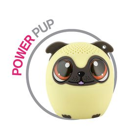 My Audio Pet - Power Pup - Pug Puppy Bluetooth Speaker