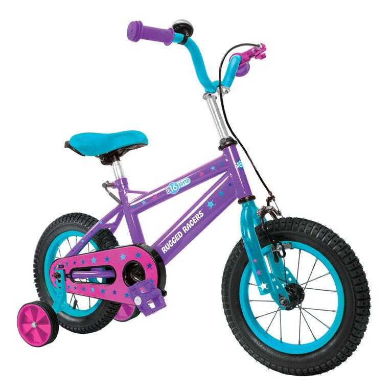 Vélo pour enfants Rugged Racer 16 pouces avec roues d'entraînement - Frozen - Édition anglaise