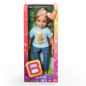 B Friends 18 inch Doll - Emily