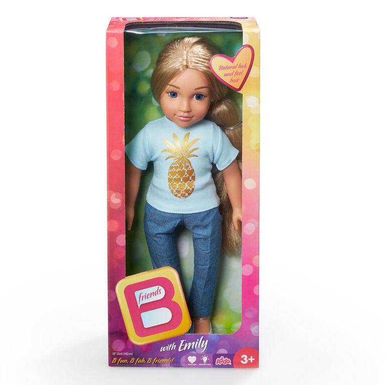 Poupée B Friends de 45,7 cm (18 po) - Emily.