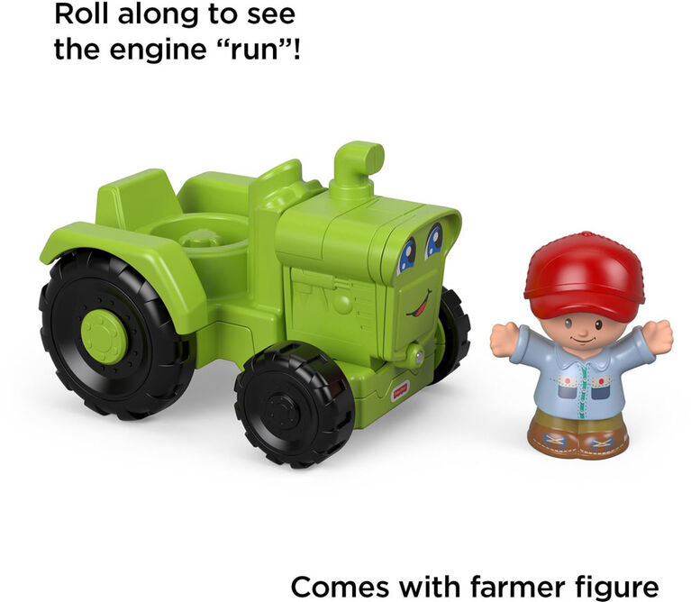 Fisher -Price Little People Helpful Harvester Tractor