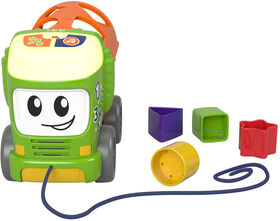 Fisher-Price Sort & Spill Learning Truck - English Edition