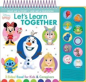 Chevalet D'Apprentissage Disney Baby Apprenons - Édition anglaise