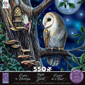 Ceaco Night Spirit 550 Piece Puzzle Fairy Tales