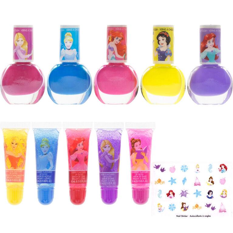 Jeu De 5 Lèvres & 5 Ongles Disney Princess