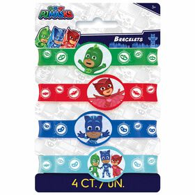 PJ Masks Stretchy Bracelets, 4 pieces