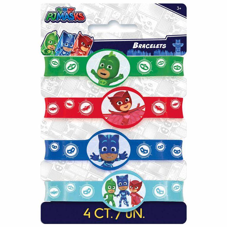PJ Masks Stretchy Bracelets, 4 pieces
