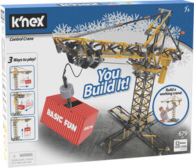 K'Nex Control Crane Building Set