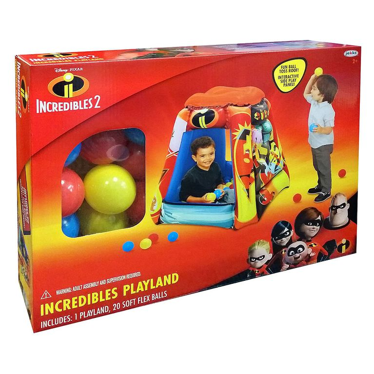 Incredibles 2 Playland with 20 balls