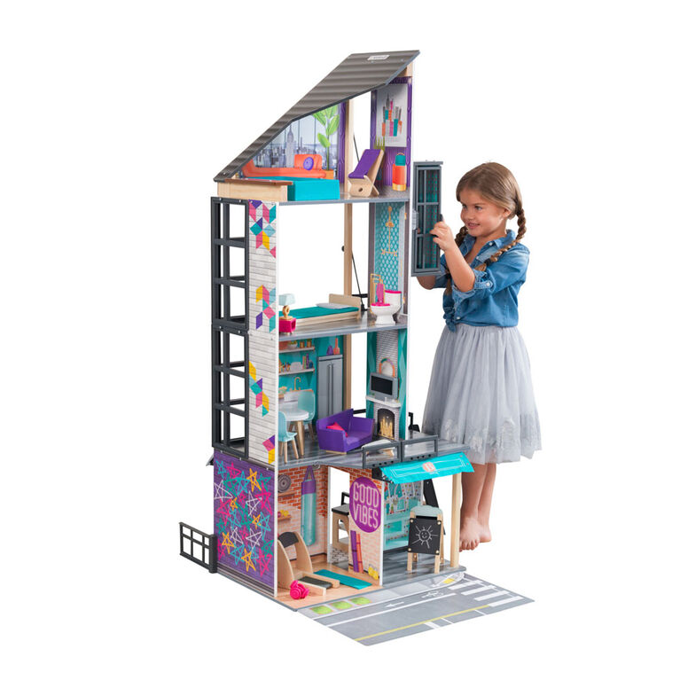 KidKraft Bianca City Life Dollhouse - R Exclusive