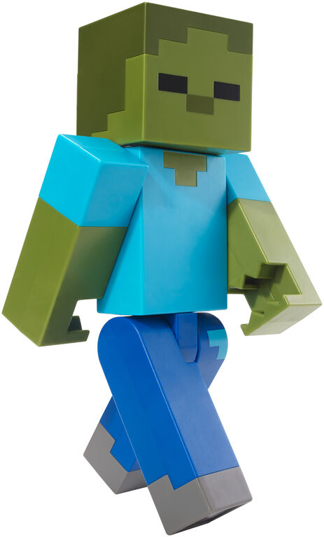 "Minecraft Zombie Large Scale Action 8.5"" Figure"