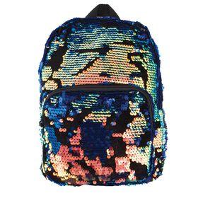 Scattered MagicSequin&Velvet Mini Backpack-Jewel