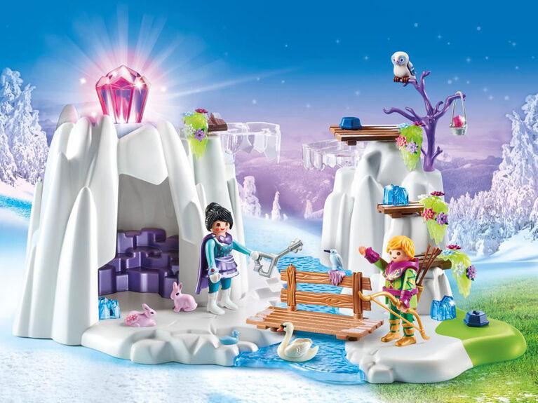Playmobil - Grotte du diamant Cristal  d'amour