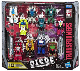 Transformers Generations War for Cybertron: Siege Micromaster Action Figures, 10-Pack - R Exclusive
