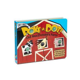 Livre pour enfants Melissa & Doug - Poke-a-Dot: l'ancienne ferme MacDonald's Farm - Édition anglaise