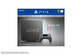 PlayStation 4 1TB Slim Days of Play Steel Grey