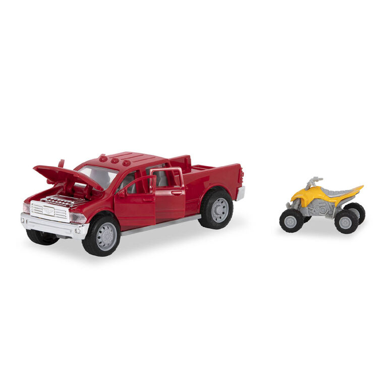 Driven, Toy Pick-Up Truck with Lights and Sounds