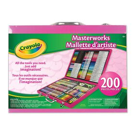 Mallette d'artiste - rose - Exclusif