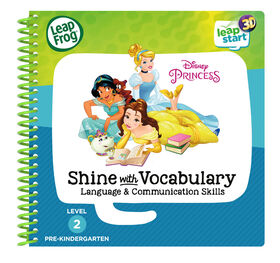 LeapFrog LeapStart 3D Disney Princess Shine with Vocabulary Language & Communication Skills - English Edition