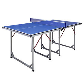 Table de tennis de table Reflex de taille moyenne de 1,8 m (6 pi)