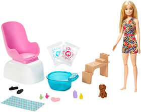 Barbie Mani-Pedi Spa