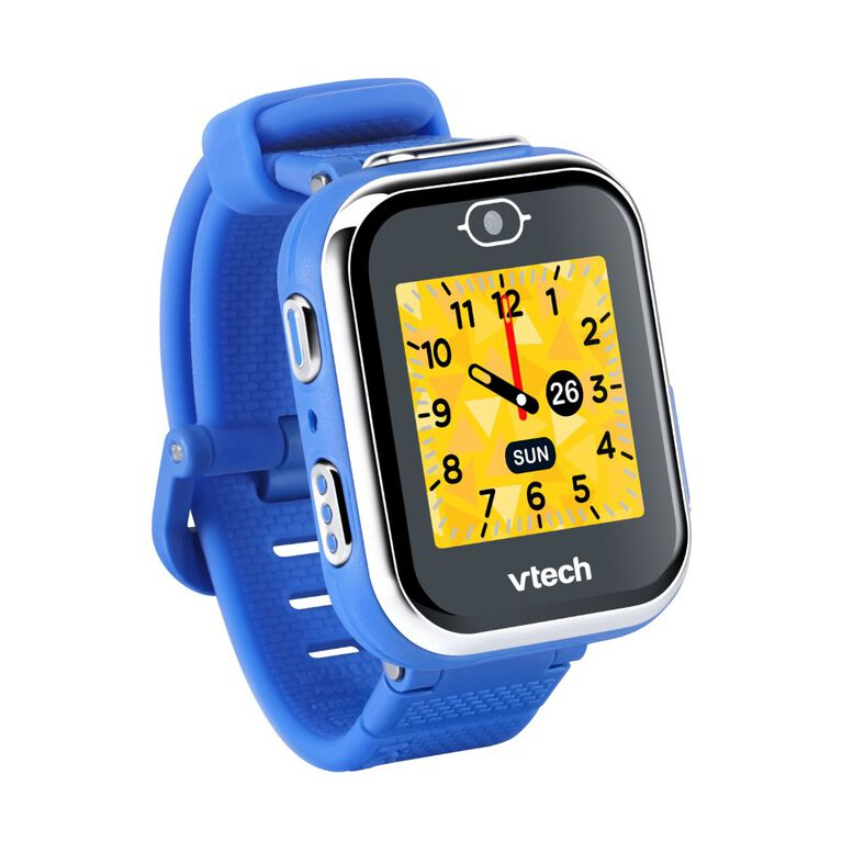 VTech KidiZoom Smartwatch DX3 with Dual Cameras, LED Light and Flash, Secure Watch Pairing, Photo & Video Effects, Games, Pedometer, Splashproof, Built-in Rechargable Battery