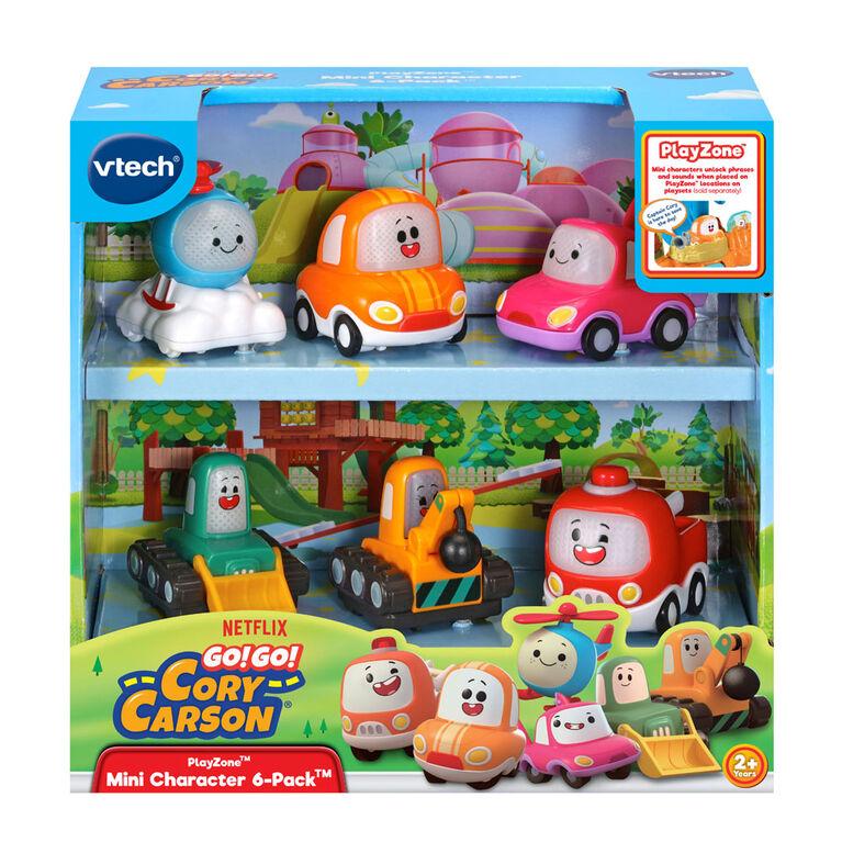 VTech Go! Go! Cory Carson® PlayZone Mini Character 6-Pack - English Edition