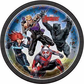 """Avengers  7""""  Plates, 8 pieces"""
