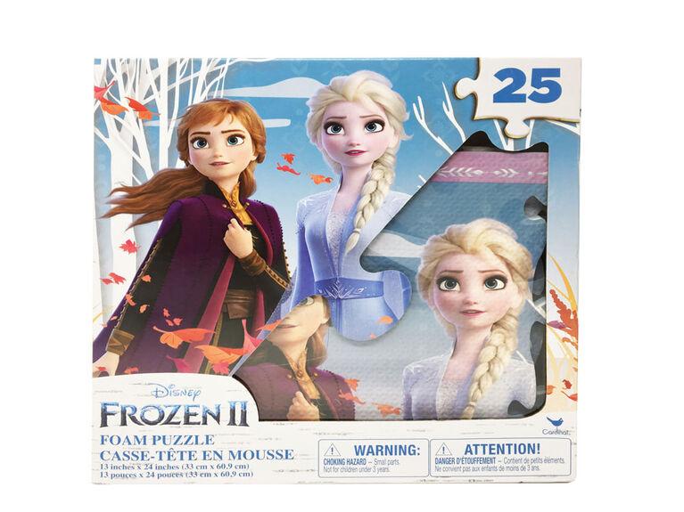 Disney Frozen II 25-Piece Foam Puzzle