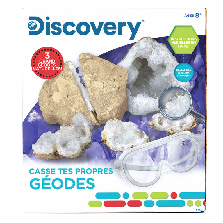 Discovery Break Your Own Geodes