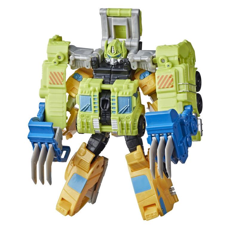 Transformers Buzzworthy Bumblebee Cyberverse, figurine Bumblebee Spark Armor Elite