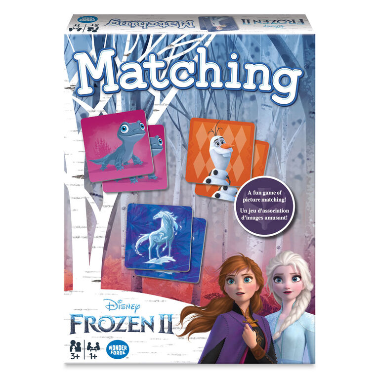 Ravensburger - Frozen 2 Jeu d'association
