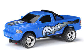 New Bright RC USB Charging Radio Control Toy Pickup Truck - Mopar Ram
