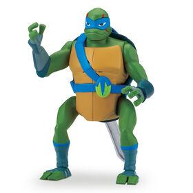 Rise of the Teenage Mutant Ninja Turtles - Leonardo Backflip Ninja Attack Deluxe Action Figure