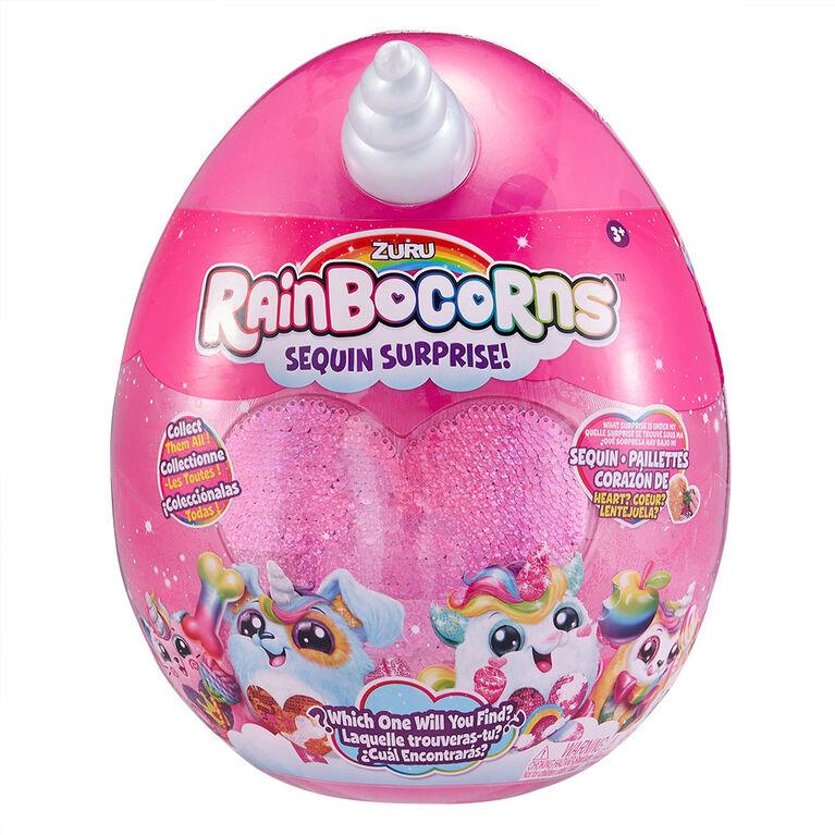Zuru Rainbocorns Sequins Surprise! - white and pink