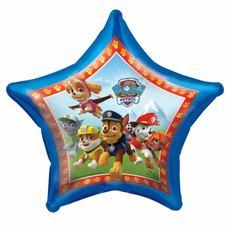 Paw Patrol Giant Shaped Foil 34""