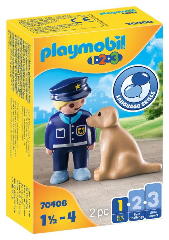 Playmobil - Policier avec chien