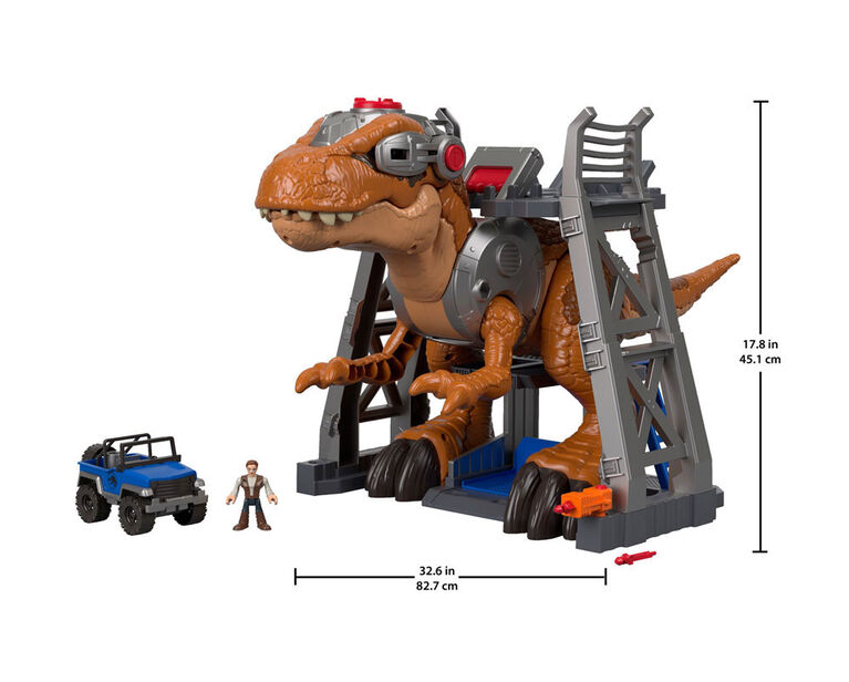 Fisher-Price - Imaginext - Jurassic World - Rex jurassique