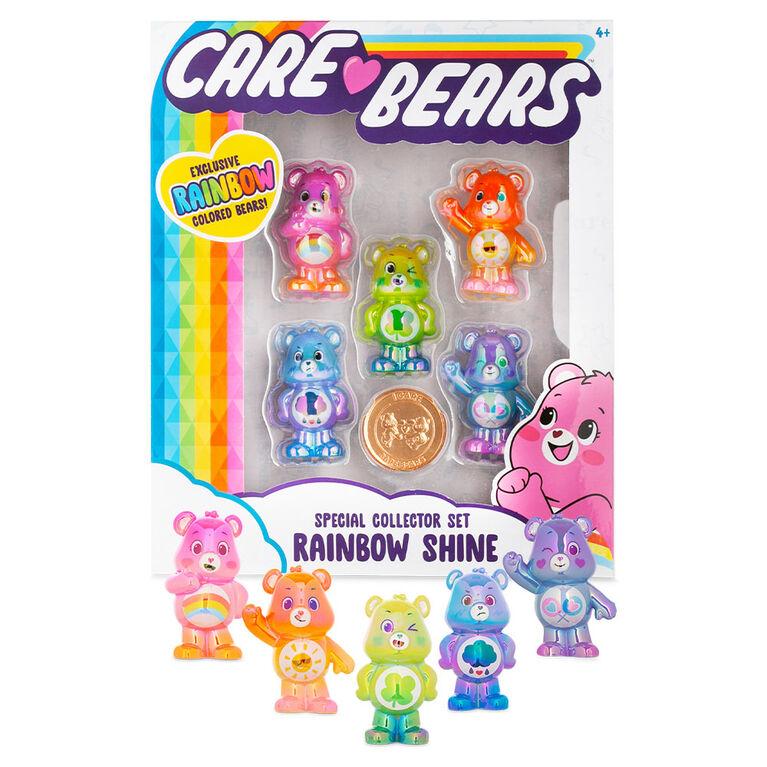 Coffret de figurines métalliques Care Bears - Notre exclusivité