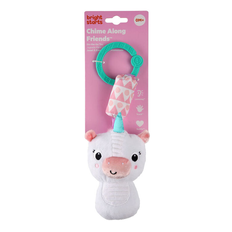 Chime Along Friends On-the-Go Toy - Unicorn