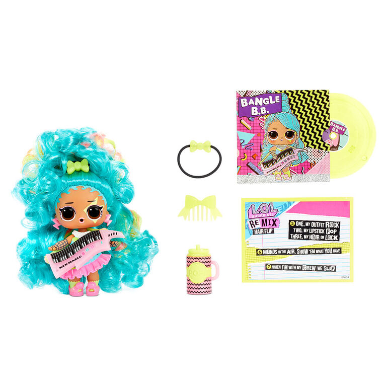 L.O.L. Surprise! Remix Hair Flip Dolls - 15 Surprises with Hair Reveal & Music