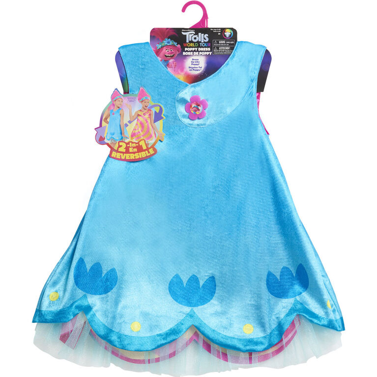 DreamWorks Trolls World Tour Poppy's Dress